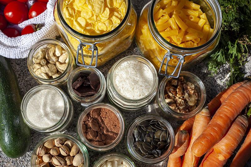 Unverpackte Lebensmittel Trend der Zukunft