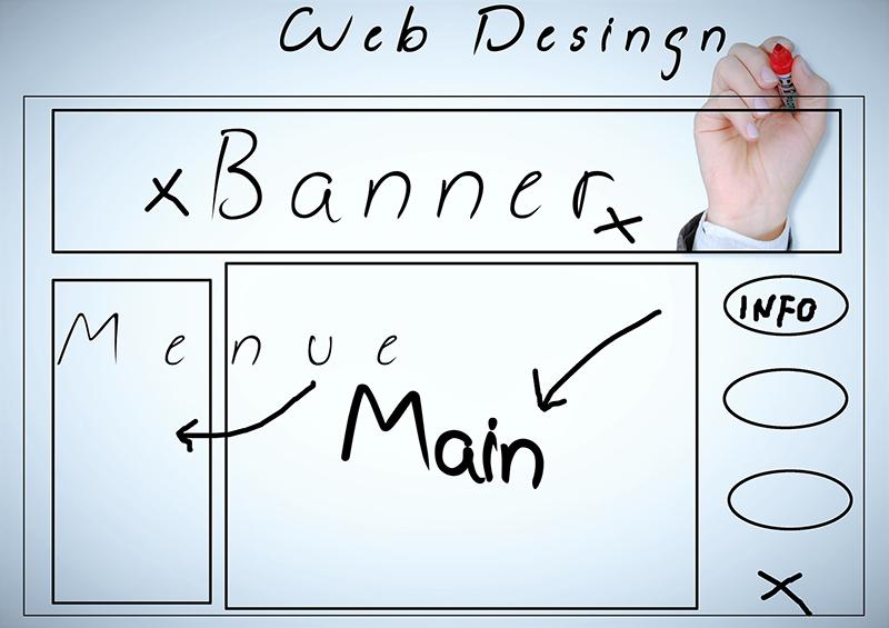 Selbständiger Webdesigner